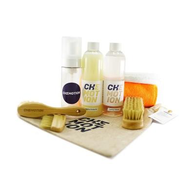 Chemotion Leather Set - Zestaw do czyszczenia i pielęgnacji skóry