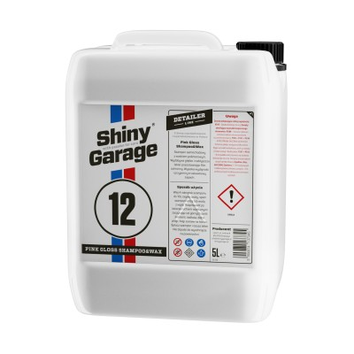 Shiny Garage Pink Gloss Car Shampoo & Wax 5 l
